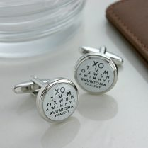 Eye Test Cufflinks, Present Ideas For Dads