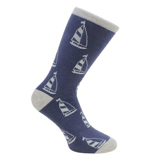 Socks In Box Yachts Motif