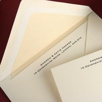 LUXURY CORRESPONDENCE CARD SET