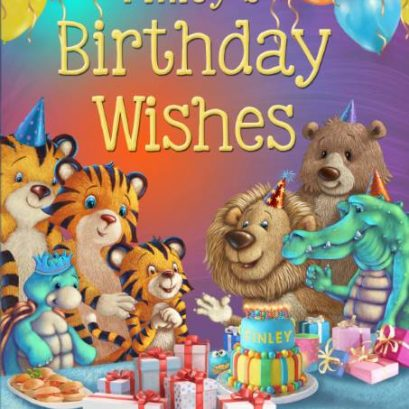 Personalised Birthday Wishes Book