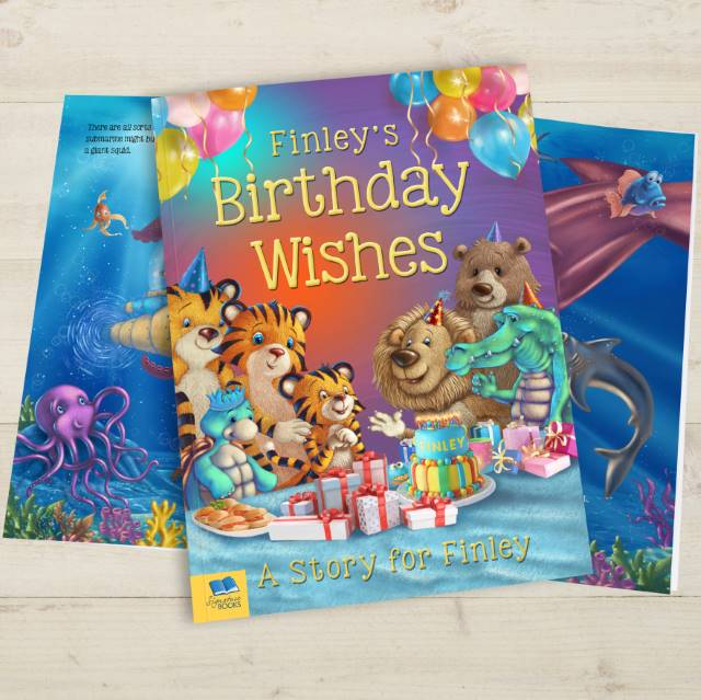 Personalised Birth Wishes Book