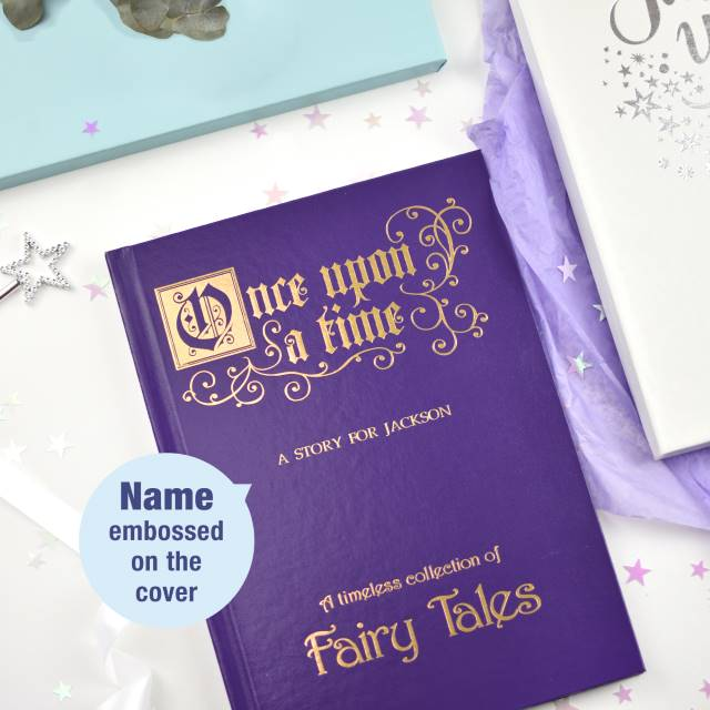 Personalised Once Upon A Time Fairy Tales