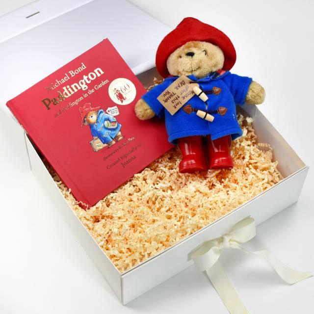 Paddington Plush Toy Bood Giftset