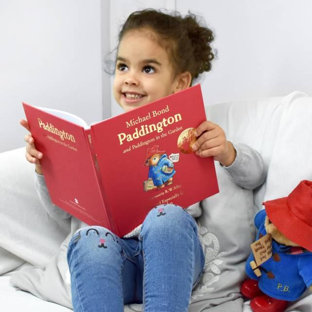 Child And Paddington Book