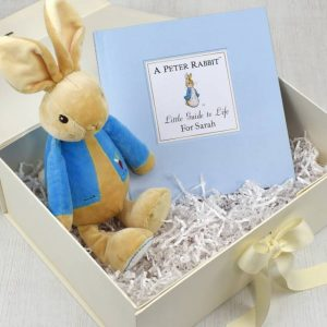 plush toy gift box Peter Rabbit