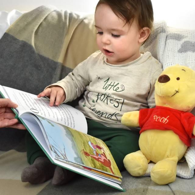 Winnie The Pooh Book & Child