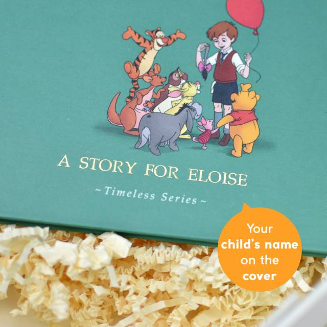 Personalised Winnie The Pooh Front Cover