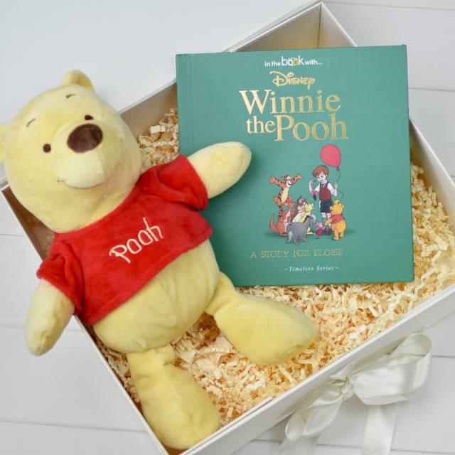 Winnie The Pooh Plush Toy Gift Set