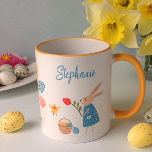 Personalised Easter Mug