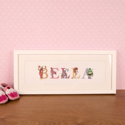 Child's Name Frame