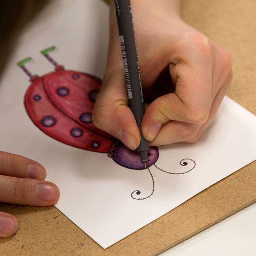 Childs Name Frame Illustration