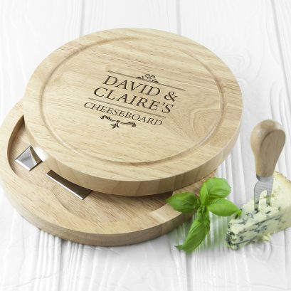 Couples Cheese Board Set