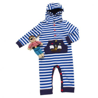 Pirate Jumpsuit And Pirate Rattle Toy