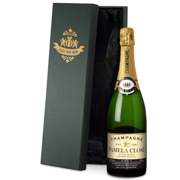 PERSONALISED AUTHENTIC STAR CHAMPAGNE