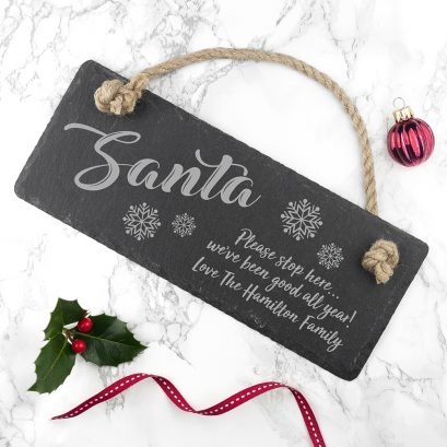 Personalised Santa Sign