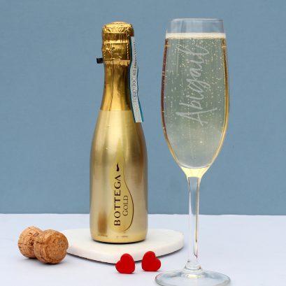 GOLD BOTTLE BOTTEGA & GLASS