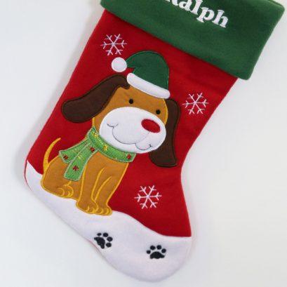 PET CHRISTMAS STOCKING FOR DOG