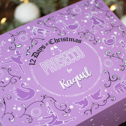 12 Days Of Christmas Prosecco Gift Box
