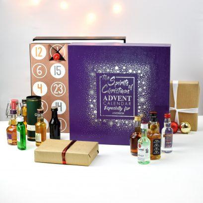 CHRISTMAS SPIRIT ADVENT GIFT BOX