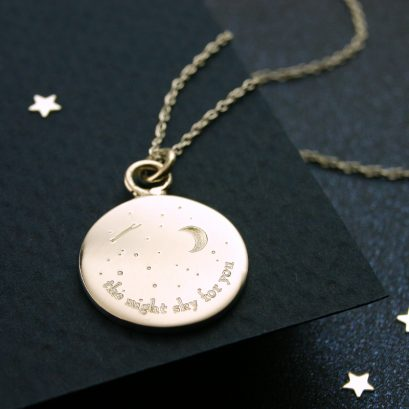 THE NIGHT SKY FOR YOU NECKLACE