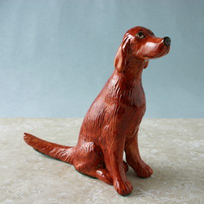 IRISH RED SETTER | POTTERY FIGURE
