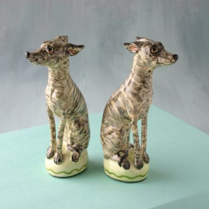 Brindle Whippets