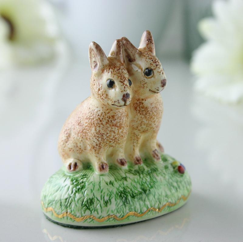Twin Rabbits By Miranda C Smith,